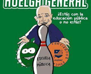 Razones para la huelga educativa el 12N en Andalucía