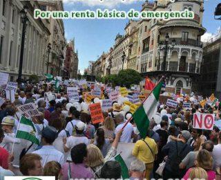 7N  Marchas de la Dignidad Andalucía. Por una sanidad y educación públicas