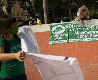 Entrevista a María José Teruel de Marea Verde Málaga, sobre la huelga educativa del 12N