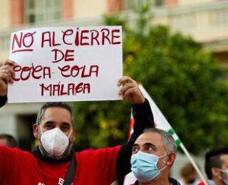 Entrevista a Yolanda, trabajadora afectada por el cierre de Coca-Cola en Málaga