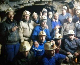 Los mineros marroquíes ocupan los túneles de las minas