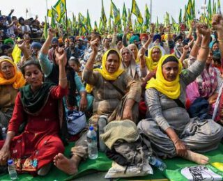 Los agricultores de la India se levantan contra el régimen de Modi