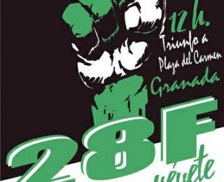 El 28F volvemos a las calles por los derechos de l@s trabajador@s en Andalucía