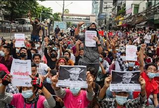 ¡Alto al baño de sangre en Birmania y a la indiferencia del capitalismo occidental!