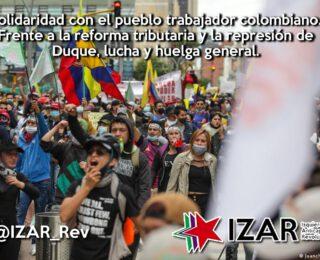 El pueblo colombiano sigue sacudiendo el gobierno de Duque en medio de una masacre brutal