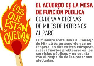 La modificación del EBEP anuncia despidos masivos en las administraciones públicas ¡Estabilidad del personal interino e incremento de las plazas en las administraciones públicas!