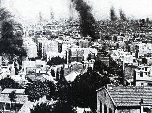 Año 1909: la Semana trágica y la guerra de los banqueros