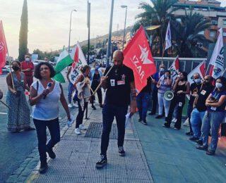 Solidaridad con las camareras de piso de Inneria en los hoteles de Granada