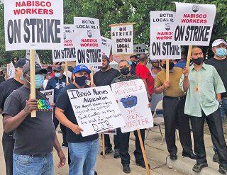 Acaba en victoria la huelga de l@s trabajador@s de Nabisco en EEUU